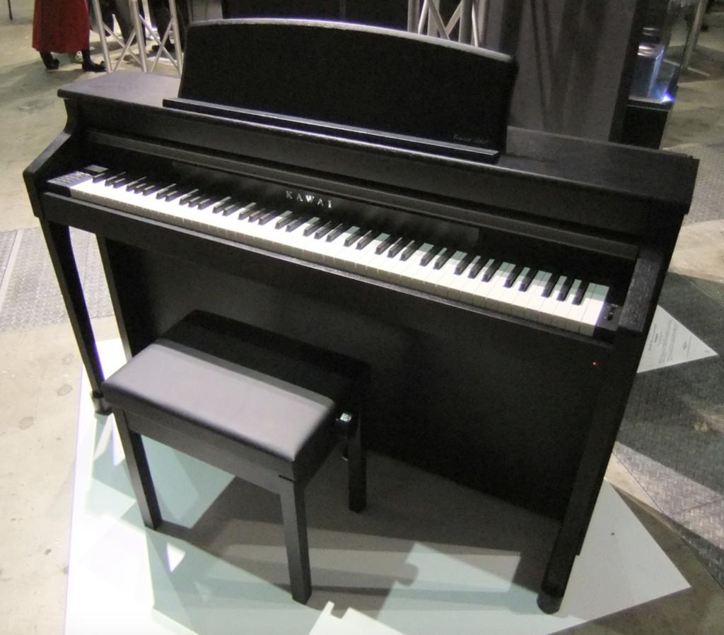 modelo de piano digital
