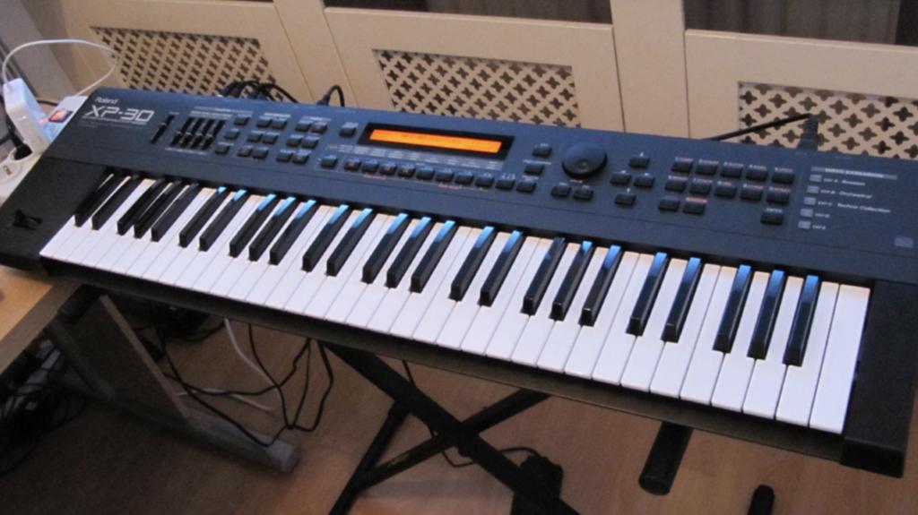 Modelo de teclado digital