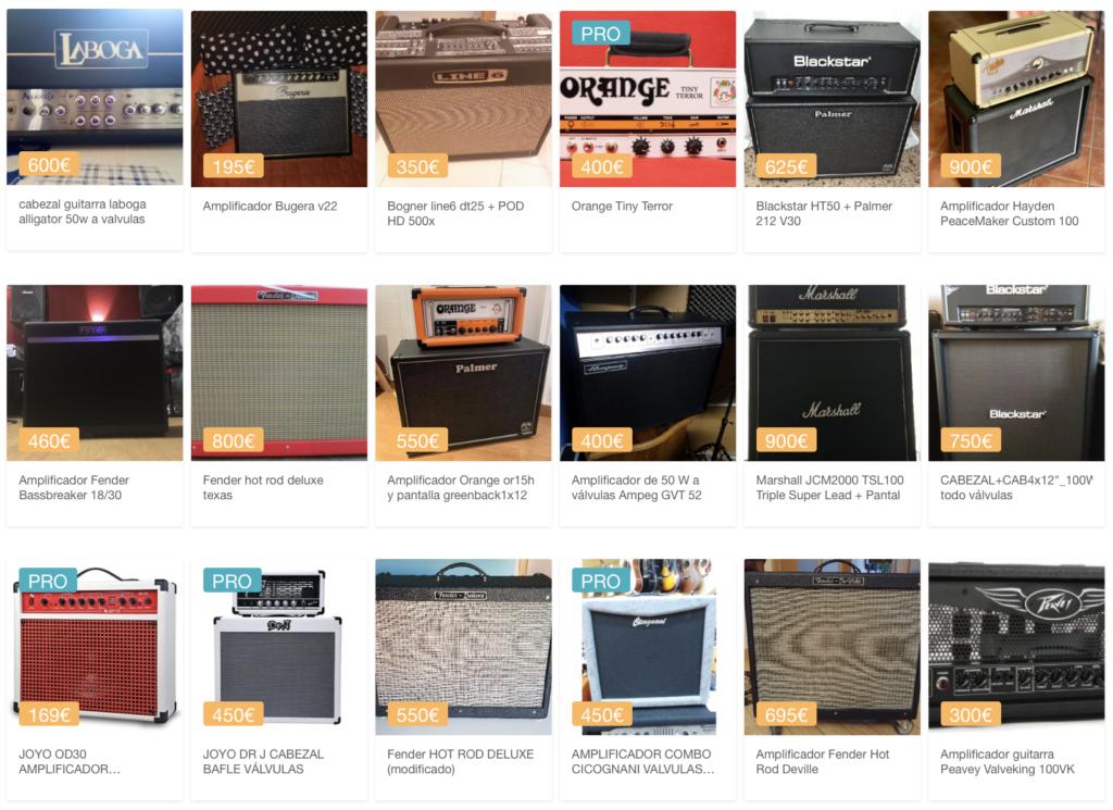 Oferta de amplificadores de valvulas en Sounds Market