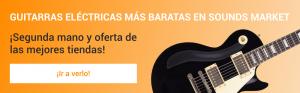 Guitarras electricas segunda mano y ocasión más baratas en Sounds Market