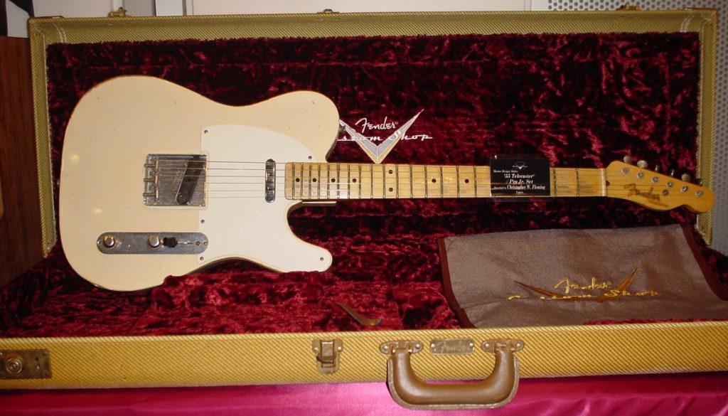 Guitarra Fender Telecaster del tipo Custom