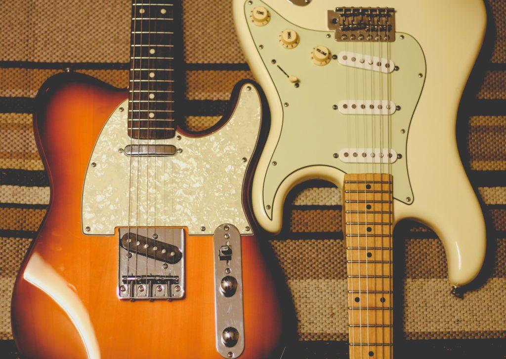 Guitarras fender Telecaster y fender stratocaster
