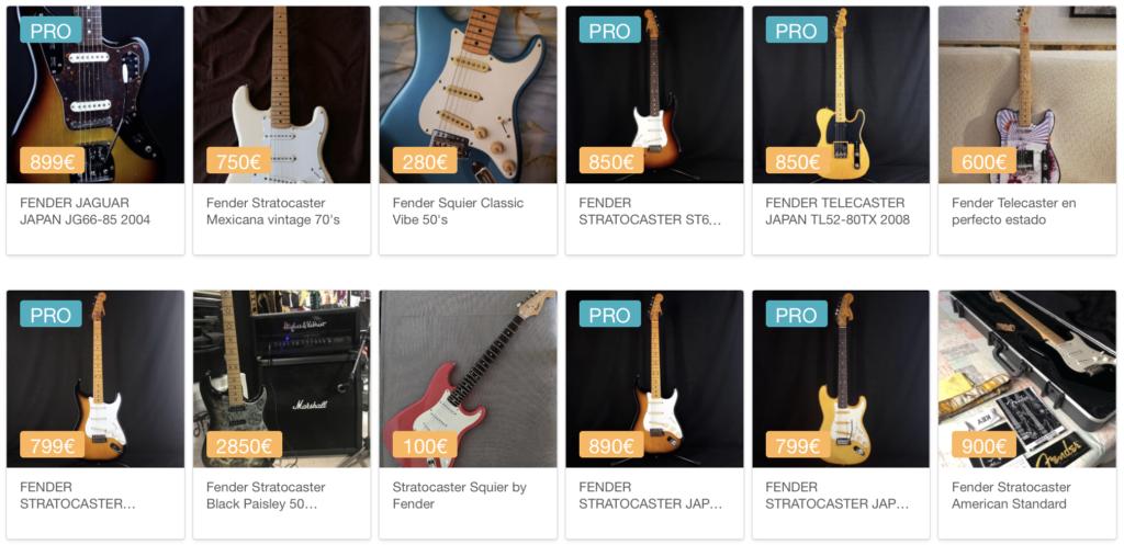 Encuentra la mejor oferta de guitarras electricas en Sounds Market