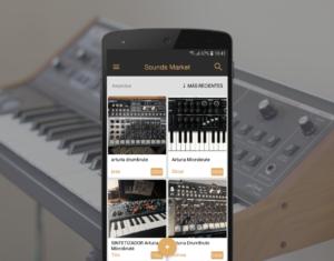 Sintetizadores de segunda mano en venta en la app de Sounds Market