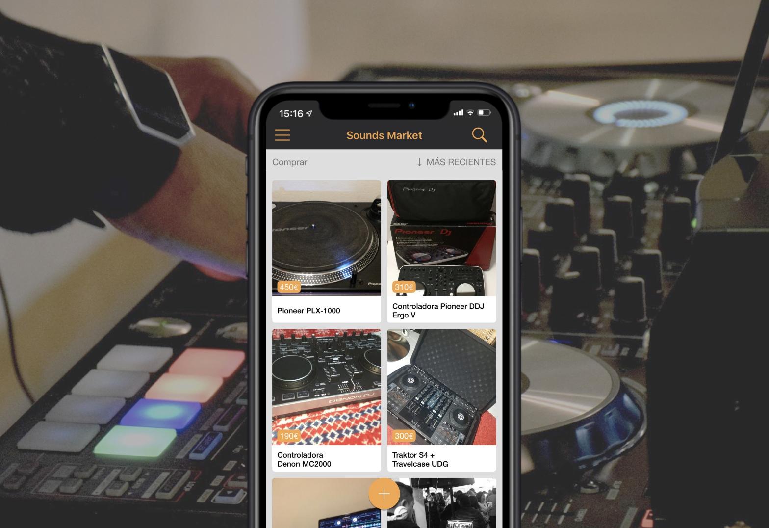 La app para comprar y vender equipo DJ