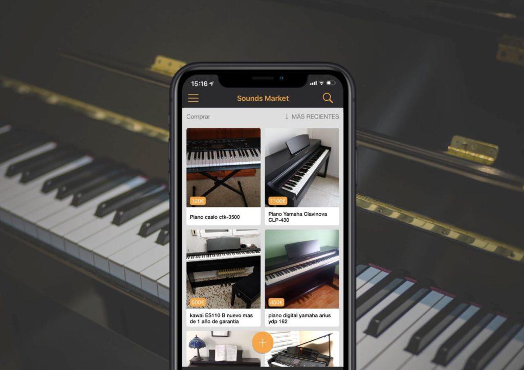 Sounds Market es la mejor aplicacon para musicos