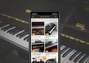 Comprar piano segunda mano