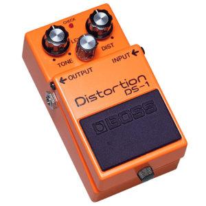 Pedal distorsión Boss DS-1.