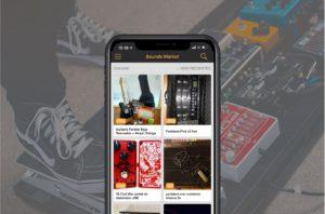 Encuentra lo que necesites en la aplicacion de Sounds Market