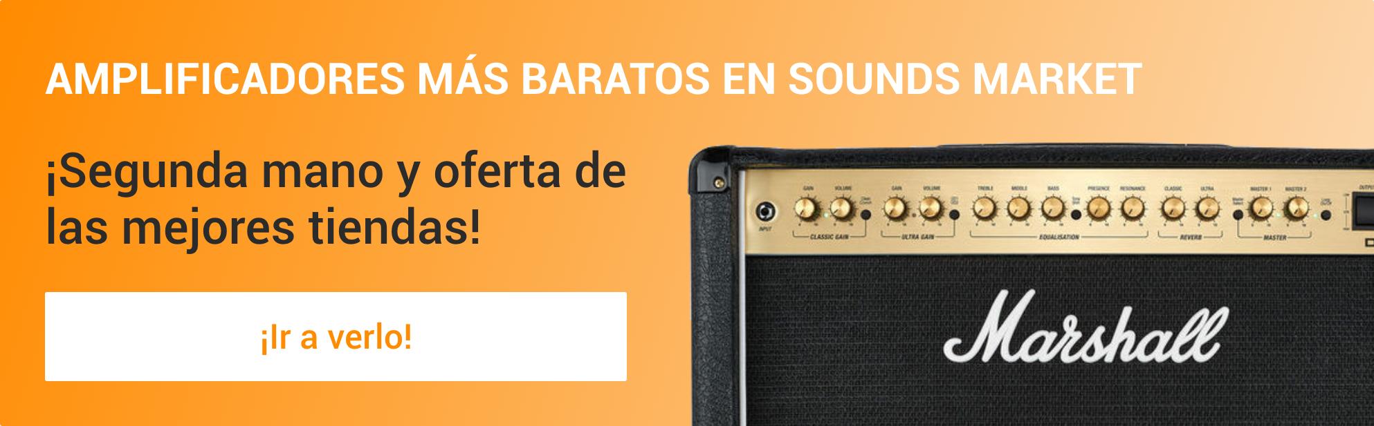 los mejores amplificadores mas baratos en Sounds Market