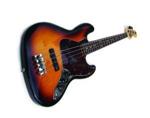 Bajo electrico de marca Fender activo