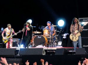 Conicerto de Red Hot Chilli Peppers antes de la salida de John Frusciante