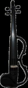 Violin moderno del tipo electrico