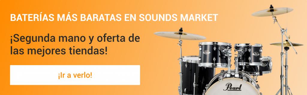 Las mejores baterias de ocasion y de segunda mano estan en Sounds Market