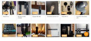 Oferta de microfonos de estudio Sounds Market
