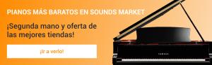 Encuentra los pianos mas baratos en Sounds Market