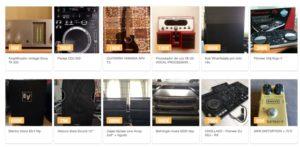 Oferta de instrumentos sounds market