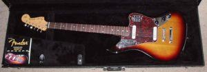 Guitarra electrica de tipo Fender Jaguar