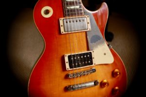Guitarra electrica del tipo Gibson Les Paul