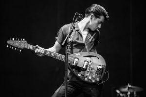 Alex Turner es el guitarrista de Artic Monkeys
