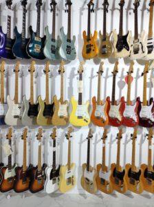 Imagen del interior de Guitarshop Barcelona