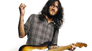 John Frusciante guitarrista de Red Hot Chilli Peppers