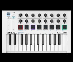 Teclado MIDI marca Arturia