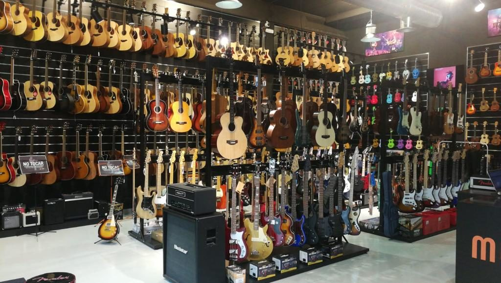 Tienda de guitarras electricas Musicopolix