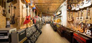 Tienda de guitarras en Barcelona Fanatic Guitars