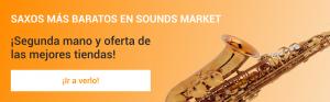Los saxofones mas baratos en Sounds Market