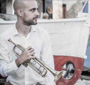 Trompetista de jazz Pol Omedes