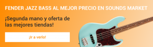 Fender Jazz Bass mas barato en Sounds Market