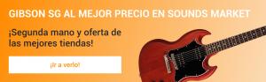 Gibson SG mas barata en Sounds Market
