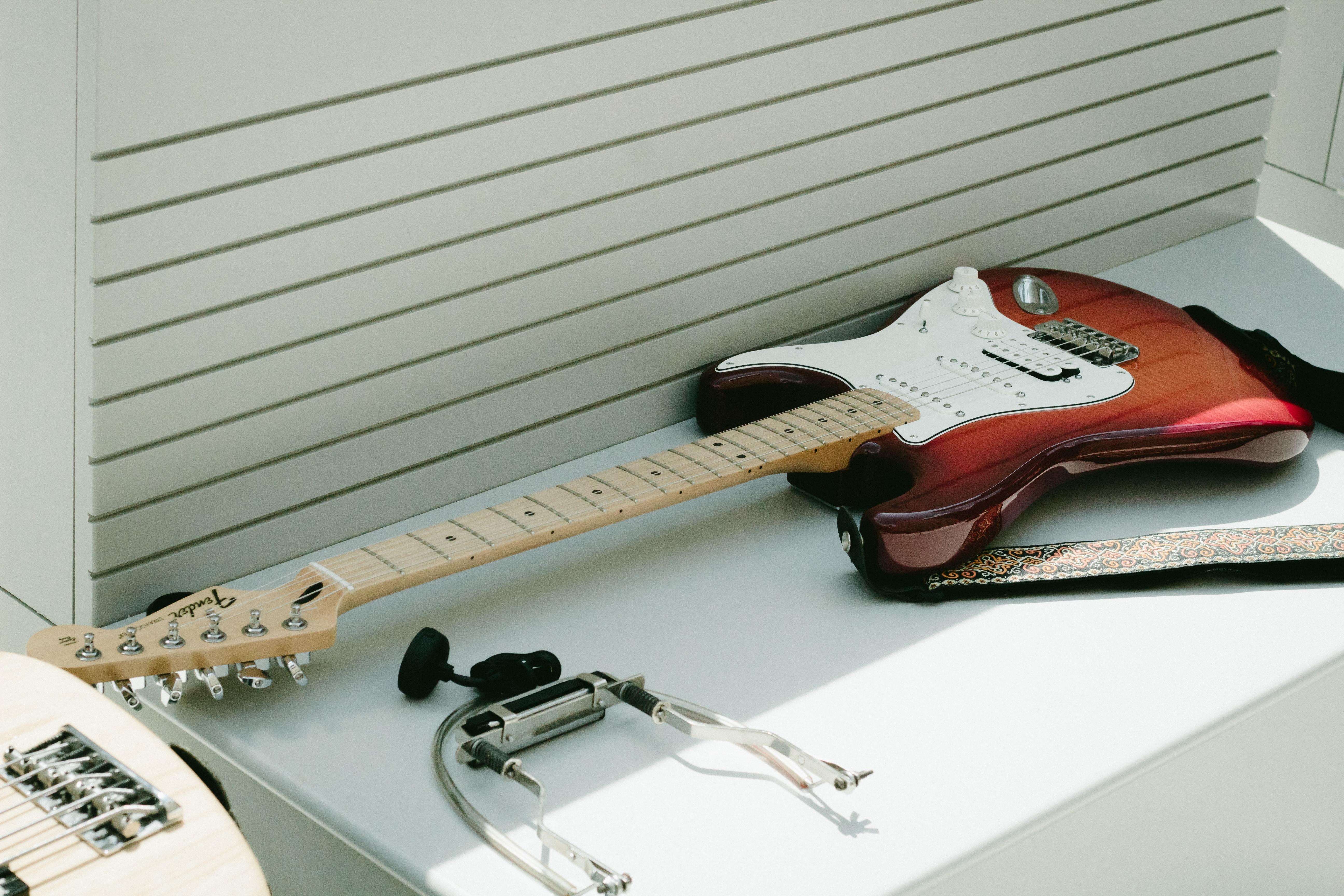 Guitarra electrica Fender de segunda mano