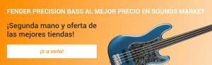Fender Precision Bass mas barato en Sounds Market