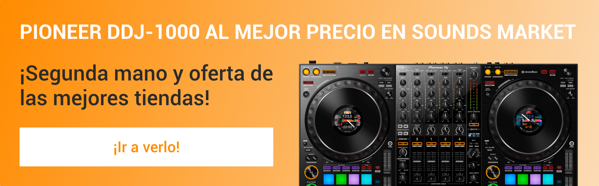 Comprar Pioneer DJ DDJ-1000