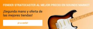 Fender Stratocaster mas barata en Sounds Market