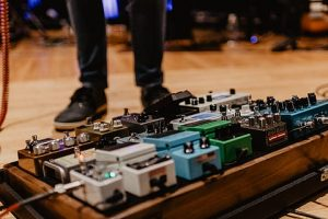 Pedales de guitarra electrica