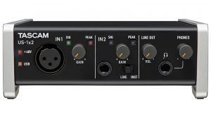 Interfaz Tascam US -1X2