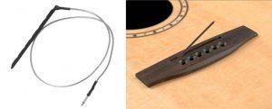 Amplificador de guitarra acustica piezoelectrico