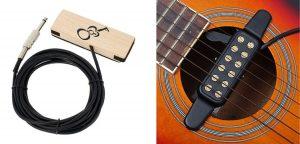 Amplificador guitarra acustica fonocaptor magnetico