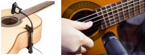 Microfonos para guitarra acustica
