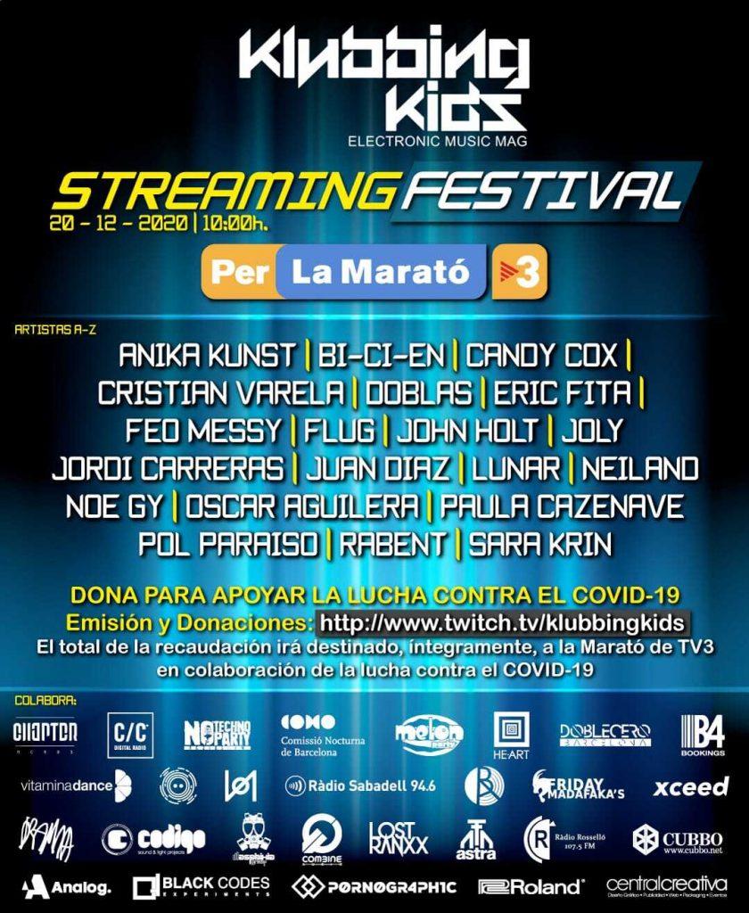 Klubbinkinds streaming festival