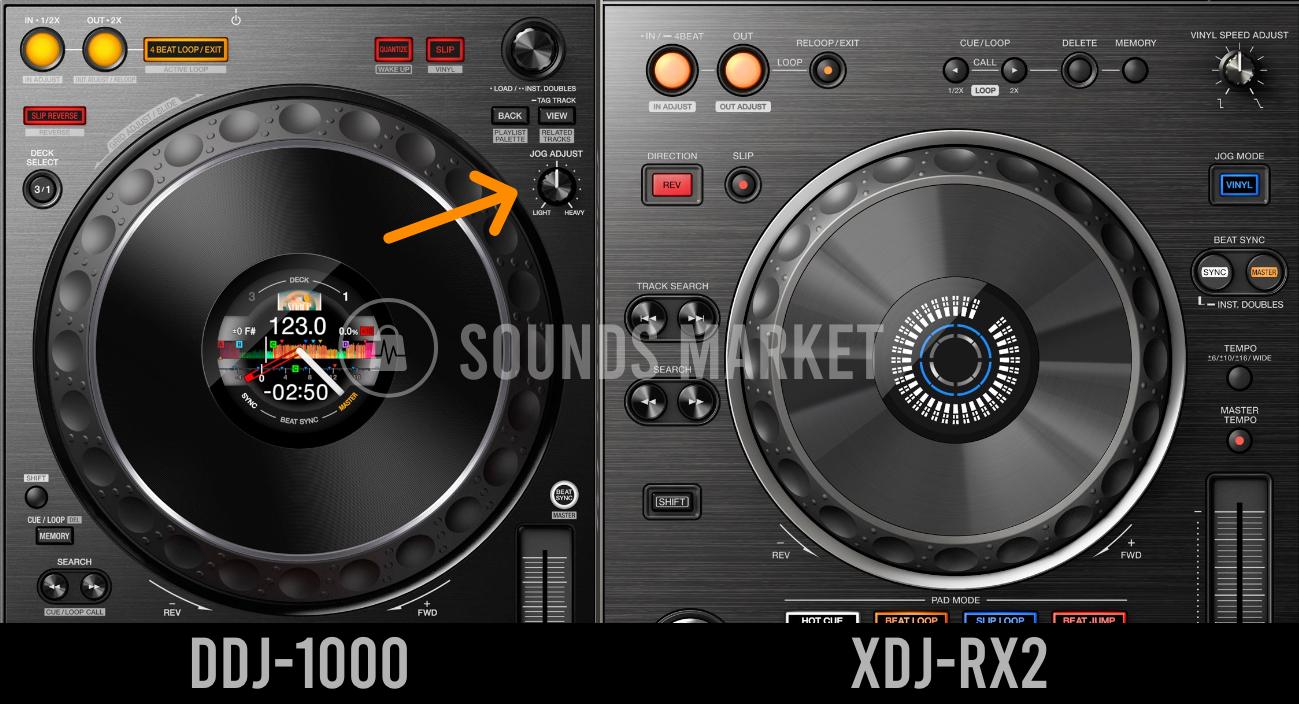Jog Adjust DDJ-1000