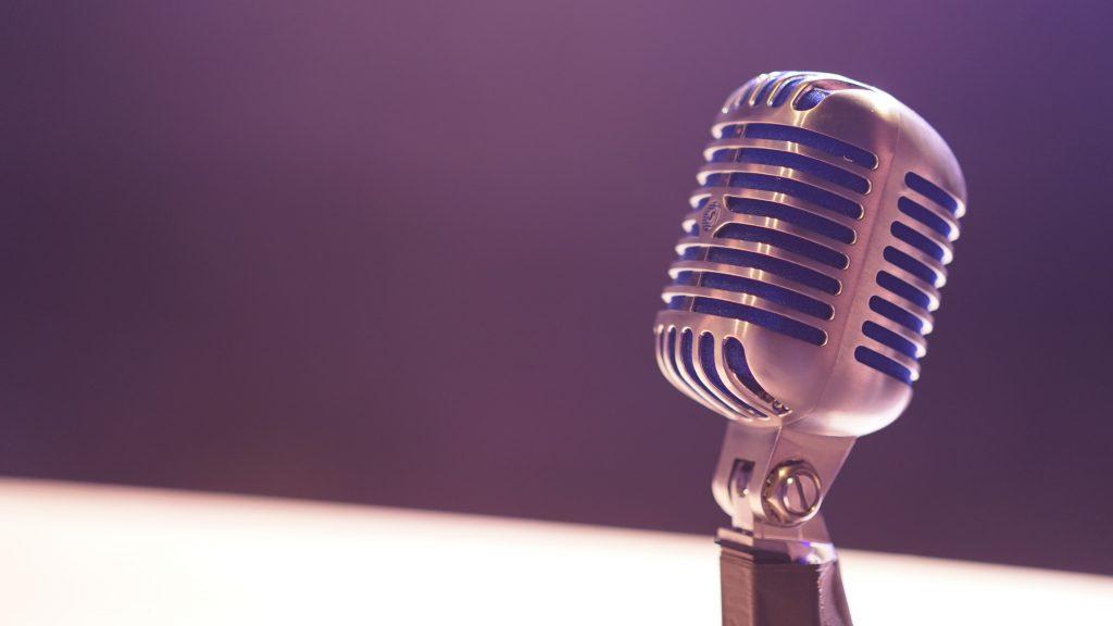 micrófono cinta balanceado vintage