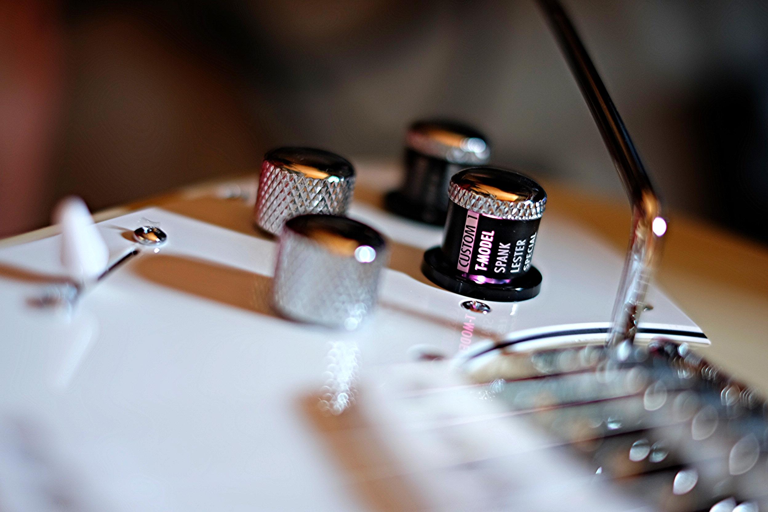 controles tono volumen guitarra modelado