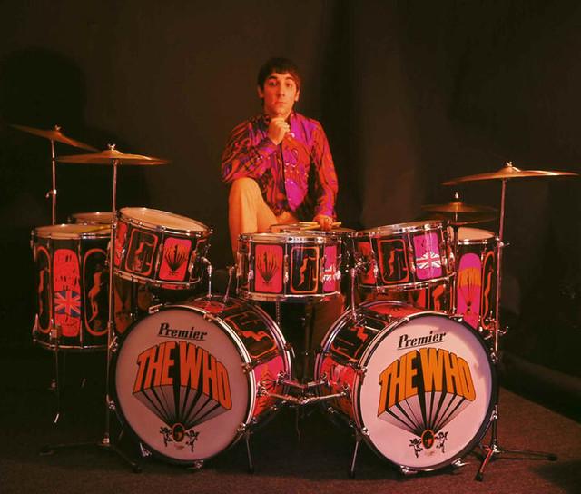 Doble bombo, The Who, Keith Moon