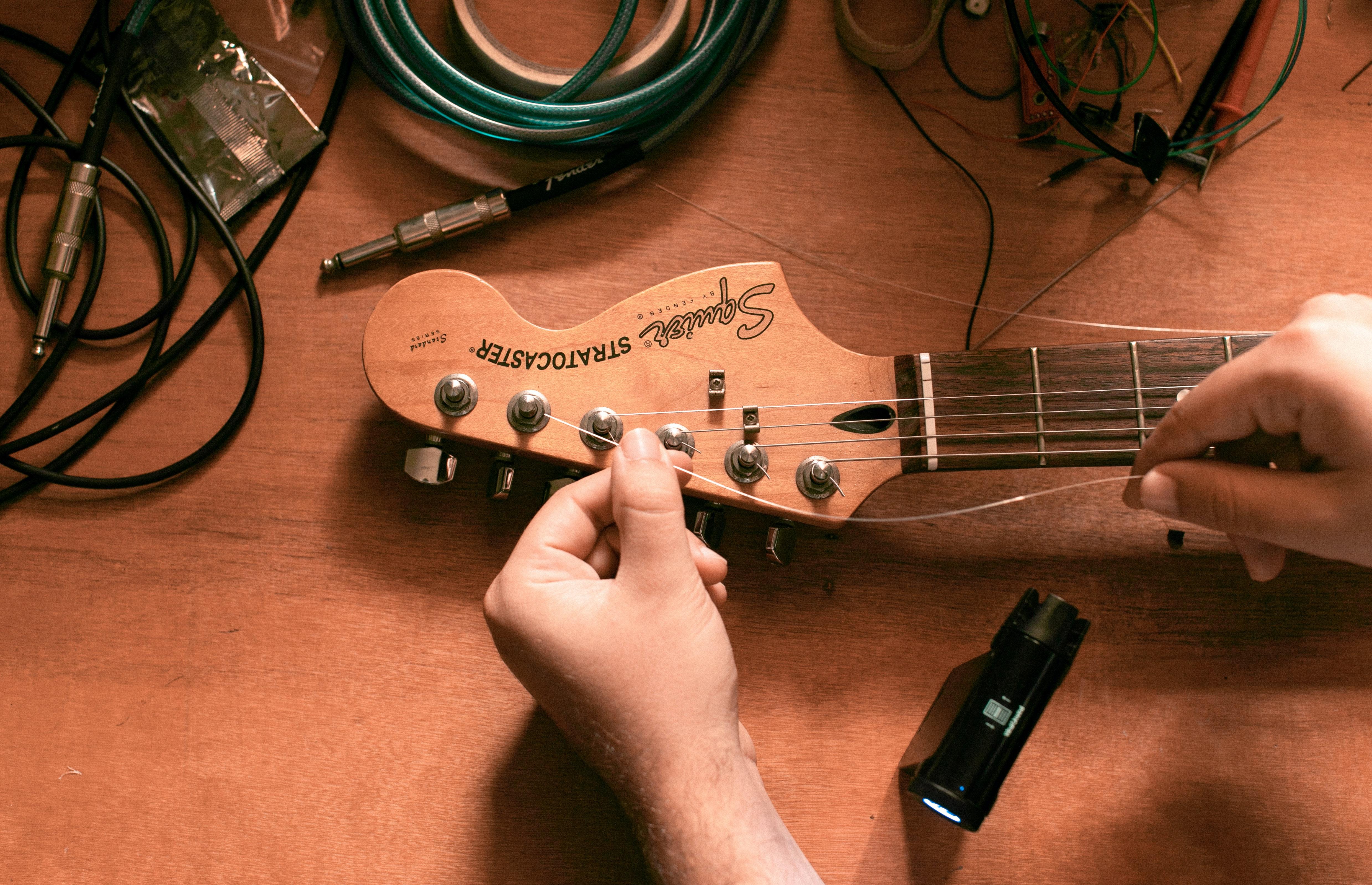 gutiar, tuning, tuner, 6 strings, tune