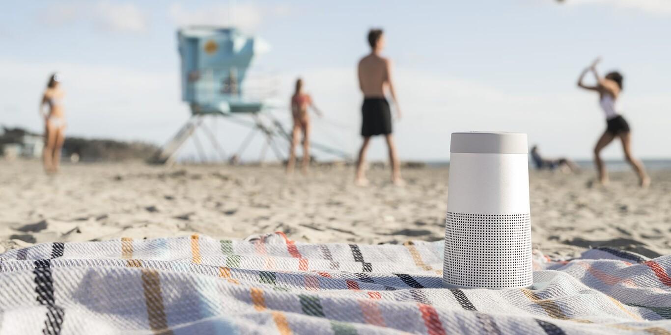 bose, playa, sonido 360, portable